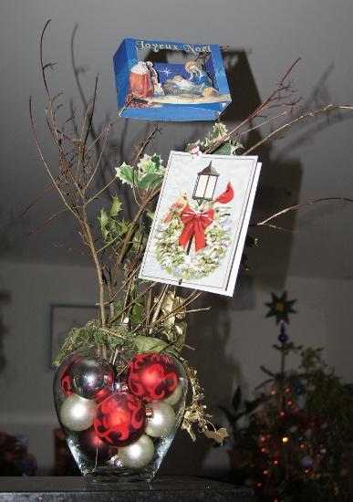 arbre à cartes de voeux