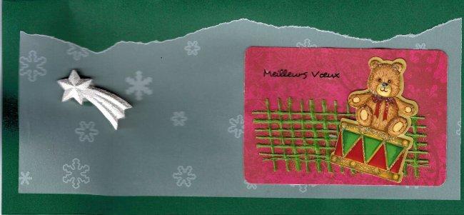 carte-enveloppe vert