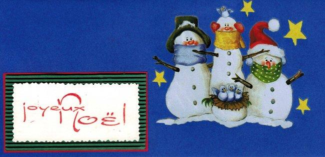 carte-enveloppe bleue