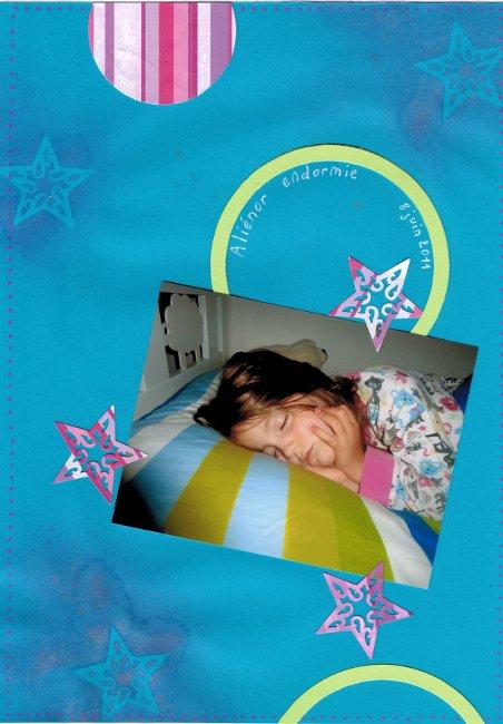 Aliénor endormie