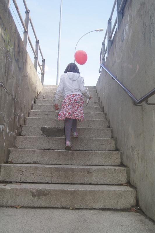 Gwendoline escalier 1