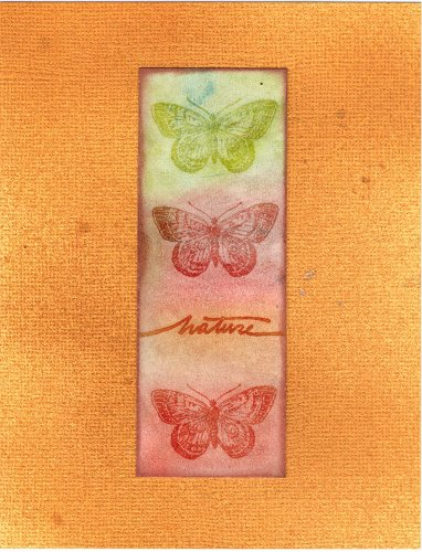 carte nature papillon