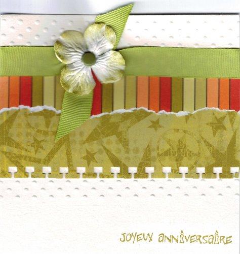 carte anniversaire Isabelle