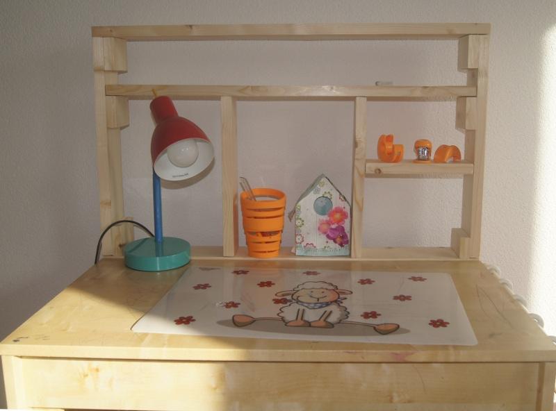 Bureau Laiva Ikea modifié