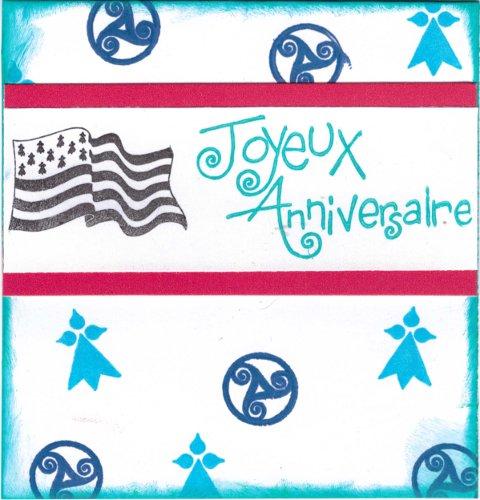 Carte anniversaire Bretagne BZH