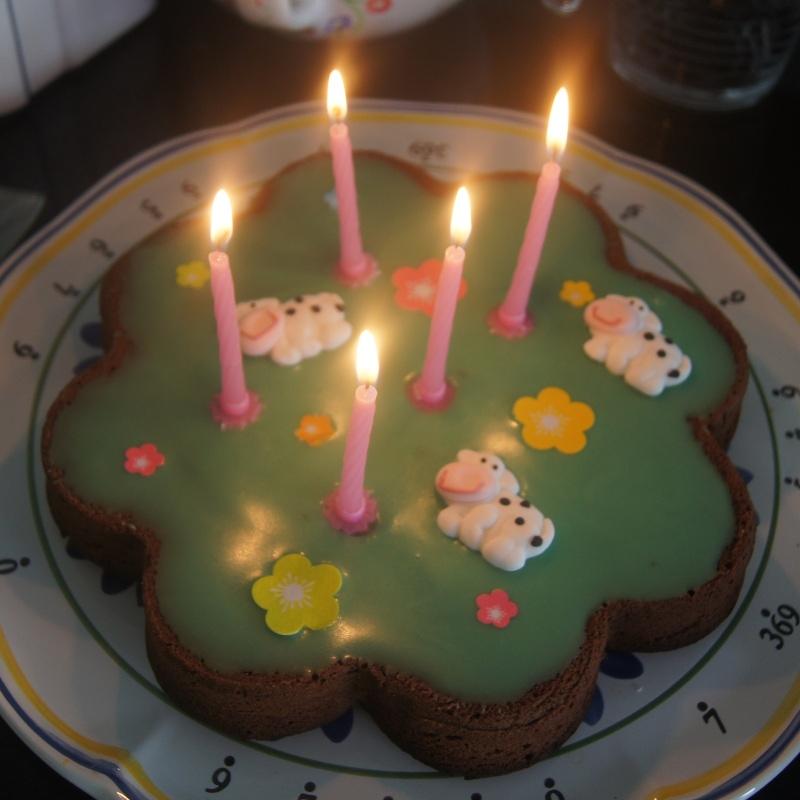 Gâteau pré à vache