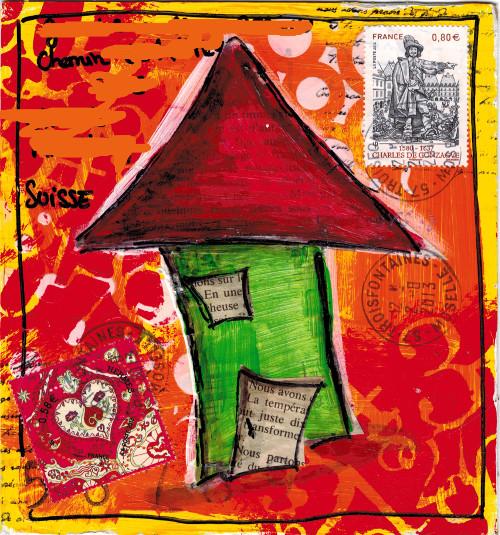 Mail Art Petite Lune été 2013