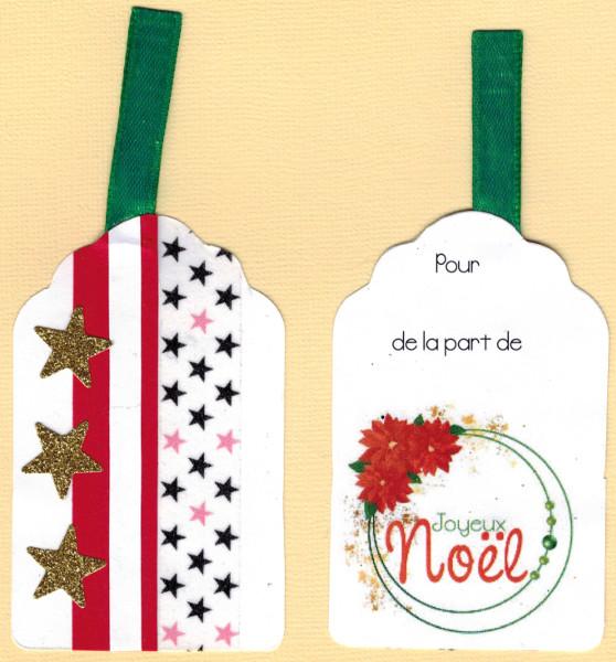 Etiquette cadeau Noël3