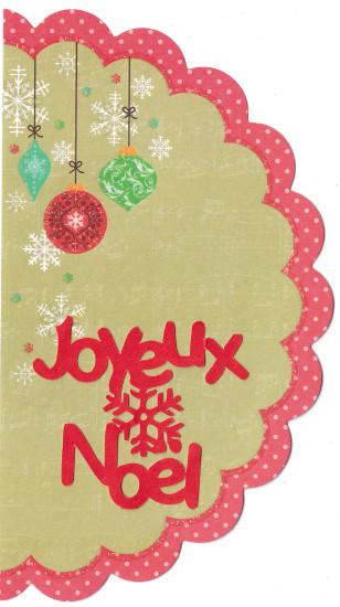 Etiquette de Noël pour Yne 1