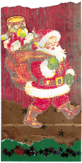 Etiquette de Noël pour Yne 3