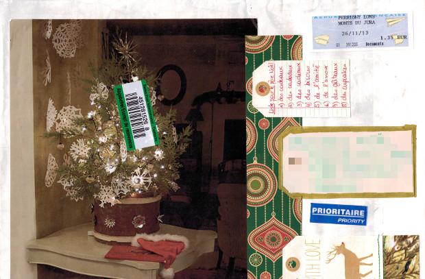 Echange Noël Mme PiNat enveloppe
