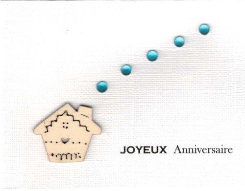 Carte anniversaire Alexandra