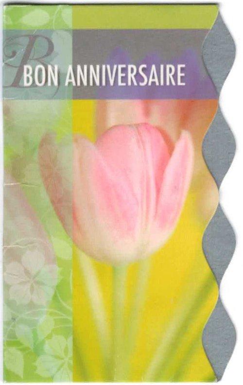 Carte anniversaire Aliénor