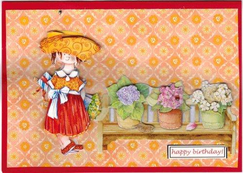 Carte anniversaire Vegarine