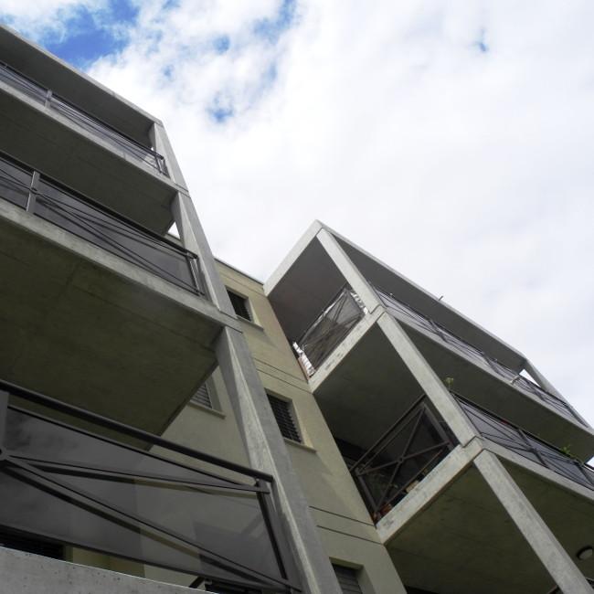Immeuble bourgeon créatif