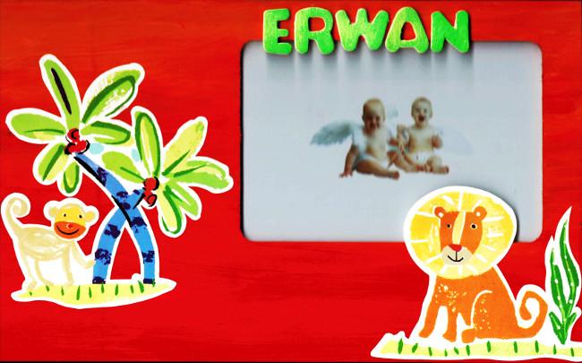 Cadre pour Erwan 1 an