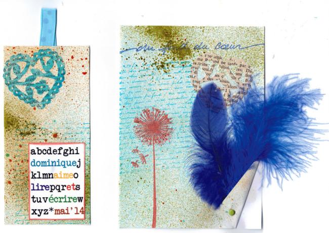 Carte à plume