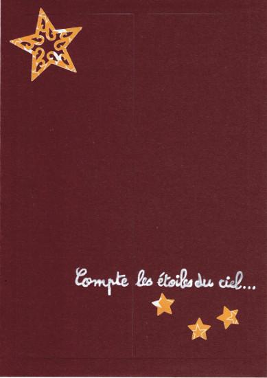 Compte les étoiles défi Com.16 Bourgeon créatif