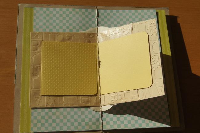 Bourgeon créatif Mail art postal fafa minialbum2