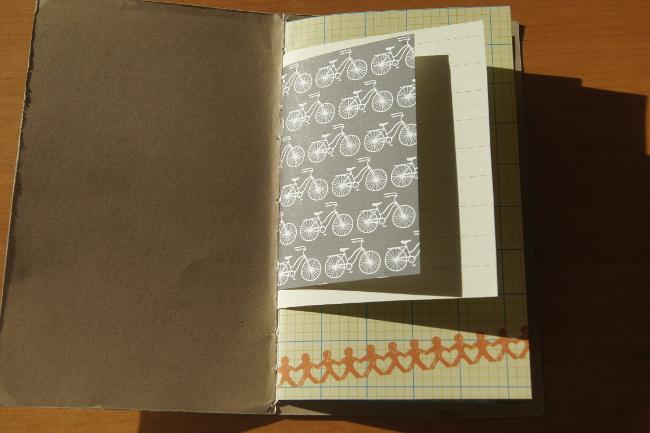 Bourgeon créatif Mail art postal fafa minialbum6