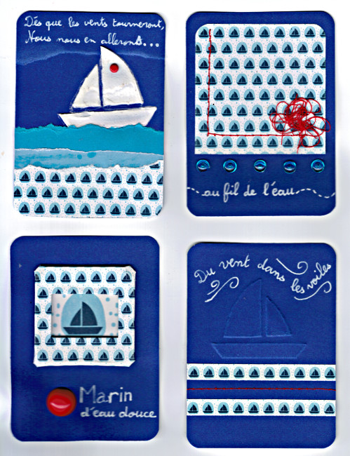 Com 16 Malo10 Cartes pour Project Life Bourgeon créatif