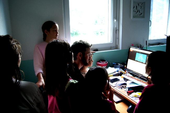 Contre jour Bourgeon créatif PPR 2014 Projet photo renouvelable