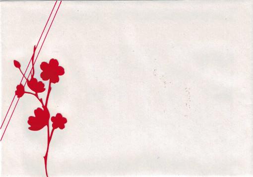 Bourgeon créatif combo couleurs CoffeeScrap mars 2015 enveloppe
