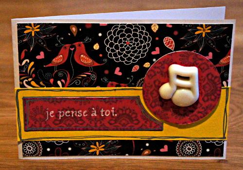 Bourgeon créatif dictée de carte CoffeeScrap mars 2015