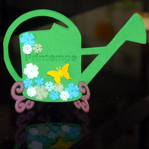 Bourgeon créatif inspiration printemps arrosoir CoffeeScrap mars 2015
