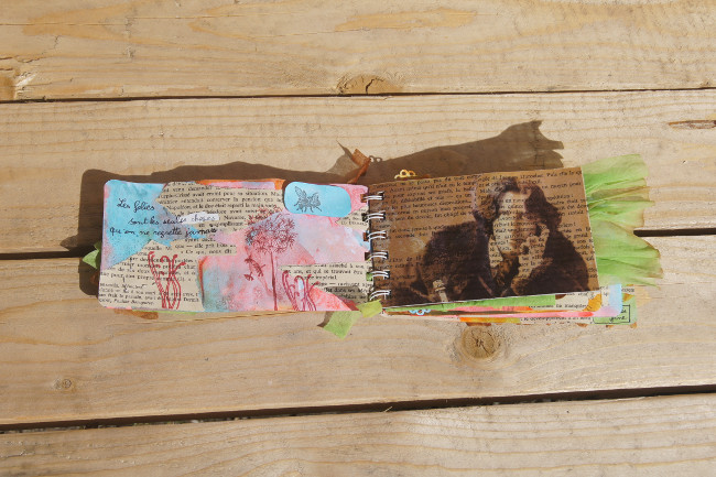 Bourgeon créatif mini album HelloFanny Potager créatif2