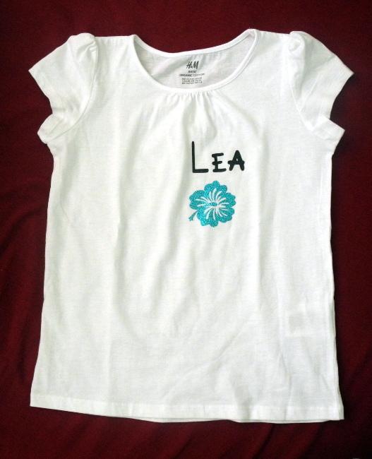 Bourgeon créatif t-shirt prénom pour anniversaire
