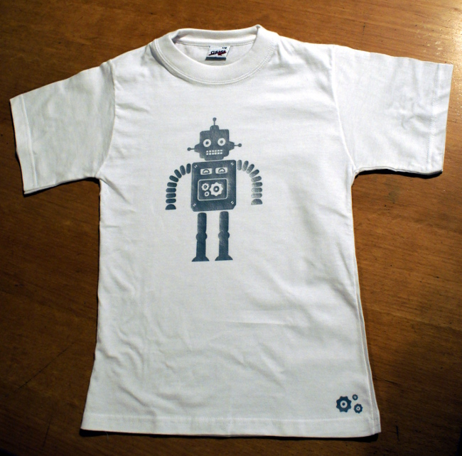 Bourgeon créatif gaminet robot