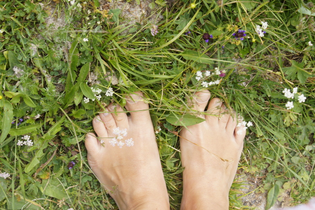 Bourgeon créatif sentier pieds nus Siviez_2