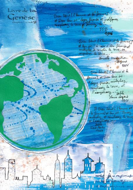 Bourgeon créatif_Bible-art_Genèse 1, 28_Croissez, multipliez_surpopulation mondiale